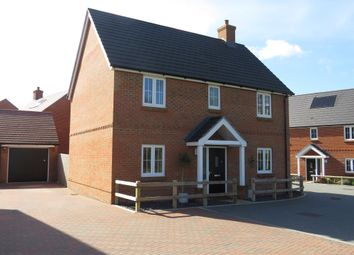 Thumbnail 4 bed detached house for sale in Delamere Gardens, Fair Oak, Eastleigh