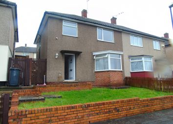 Thumbnail 3 bed semi-detached house to rent in Langdale Drive, Derby