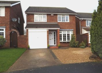 Thumbnail 4 bed detached house for sale in Spencer Close, Potton