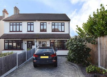 Thumbnail 3 bed semi-detached house for sale in Blenheim Crescent, Leigh-On-Sea, Essex