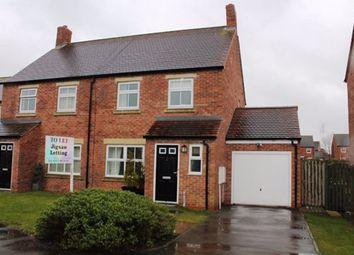 Thumbnail 3 bed semi-detached house to rent in Oak Way, Staynor Hall, Selby