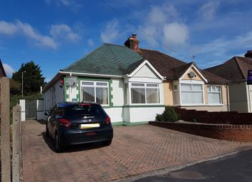 Thumbnail 2 bed semi-detached bungalow for sale in The Crossway, Portchester, Fareham