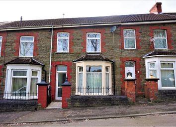 Thumbnail 3 bed terraced house for sale in Upper Glyn Gwyn Street, Caerphilly