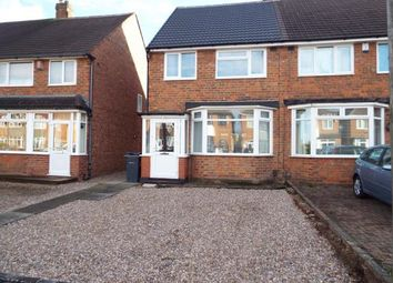 Thumbnail 3 bed semi-detached house for sale in Chaffcombe Road, Sheldon, Birmingham, West Midlands
