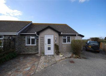 Thumbnail 3 bed semi-detached bungalow for sale in Laura Close, Tintagel, Cornwall