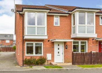 Thumbnail 2 bed semi-detached house for sale in Lowery Crescent, Oxley Park, Milton Keynes