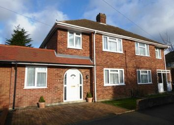 Thumbnail 3 bed semi-detached house to rent in Cecil Close, Chessington