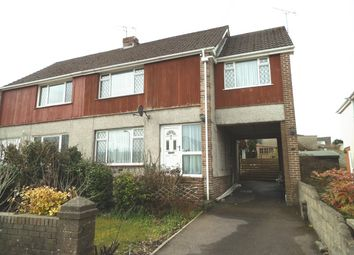Thumbnail 4 bed semi-detached house for sale in Wernlys Road, Penyfai, Bridgend
