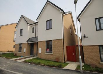 Thumbnail 3 bedroom semi-detached house to rent in Reservoir Way, Ilford
