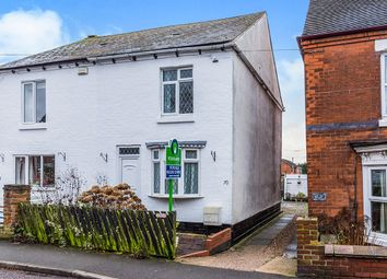 Thumbnail 3 bed semi-detached house for sale in Oak Street, Church Gresley, Swadlincote