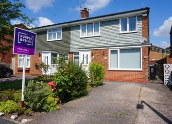 Thumbnail 3 bed semi-detached house for sale in Bath Crescent, Cheadle Hulme