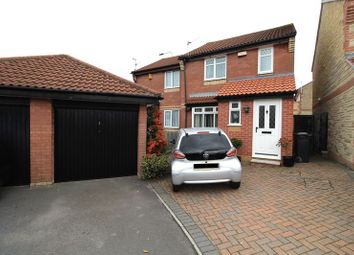 Thumbnail 3 bed semi-detached house for sale in Huckley Way, Bradley Stoke, Bristol