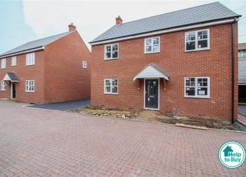 Thumbnail 4 bed detached house for sale in Warren Close, Leighton Buzzard