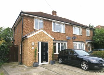 Thumbnail 3 bed semi-detached house for sale in Sherborne Road, Bedfont, Feltham