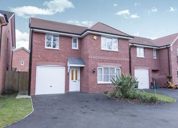 Thumbnail 4 bed detached house for sale in Foxglove Way, Rudheath, Northwich