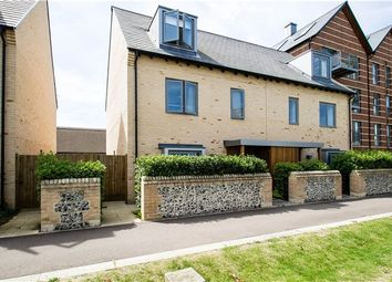Thumbnail 3 bed semi-detached house for sale in Consort Avenue, Trumpington, Cambridge
