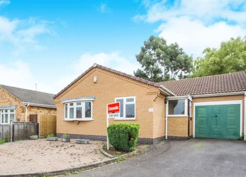 Thumbnail 2 bed detached bungalow for sale in Fontwell Drive, Glen Parva, Leicester