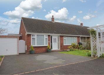 Thumbnail 3 bed semi-detached bungalow for sale in Hollies Drive, Shrewsbury