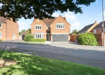 Thumbnail 4 bed detached house for sale in Middlefield Close, Derby