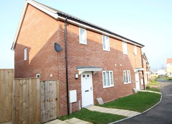 Thumbnail 3 bed semi-detached house for sale in Valley View Drive, Great Blakenham, Ipswich, Suffolk