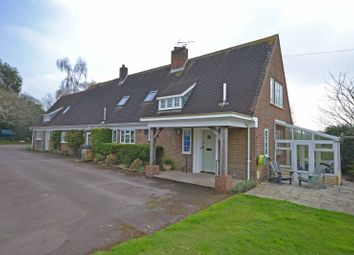 Thumbnail 6 bed detached house for sale in Mossat House, Halnaker, Chichester