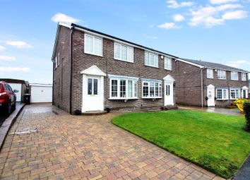 Thumbnail 3 bed semi-detached house for sale in Moorgate Avenue, Kippax, Leeds