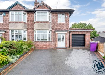 Thumbnail 3 bed semi-detached house for sale in Halewood Close, Liverpool, Merseyside