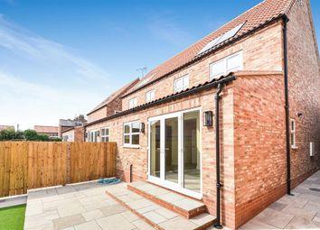 Thumbnail 4 bed semi-detached house for sale in Kirkland Street, Pocklington