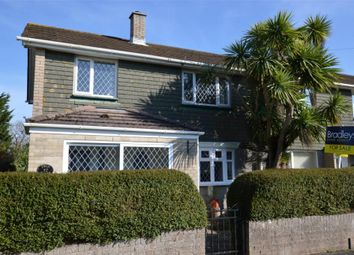 Thumbnail 3 bedroom end terrace house for sale in Ashery Drive, Hooe, Plymouth, Devon