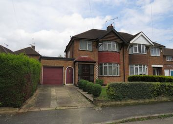 Thumbnail 4 bed semi-detached house for sale in Springway Close, Leicester