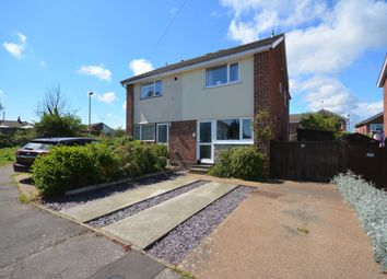 Thumbnail 3 bed semi-detached house for sale in Herons Close, Lowestoft