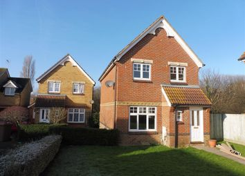 Thumbnail 3 bed detached house to rent in Gordon Close, Ashford