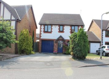 Thumbnail 4 bed detached house for sale in Mallens Croft, Bramshall, Uttoxeter