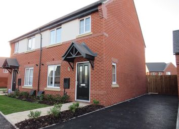 Thumbnail 3 bed semi-detached house to rent in Appleby Close, Littleover, Derby