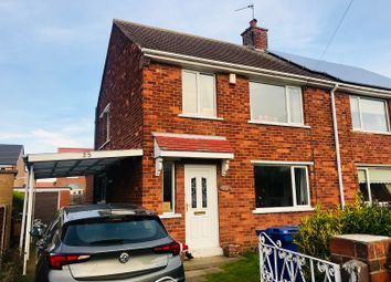 Thumbnail 3 bed semi-detached house for sale in Locksley Avenue, Edenthorpe, Doncaster