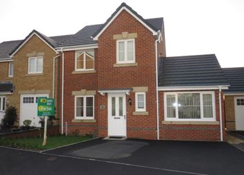 Thumbnail 3 bed detached house for sale in St Llids Meadow, Llanharan, Pontyclun