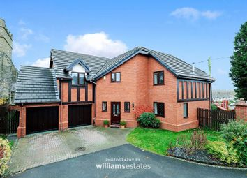 Thumbnail 5 bed detached house for sale in St. Marys Close, Northop Hall, Mold