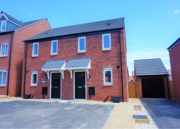 Thumbnail 2 bed semi-detached house for sale in 2 Crawley Way, Chellaston