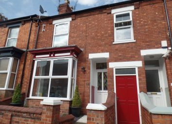 Thumbnail 3 bed terraced house for sale in May Crescent, Lincoln