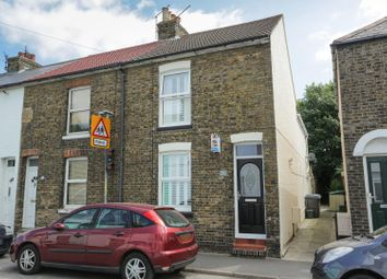 Thumbnail 2 bed end terrace house for sale in Western Road, Deal