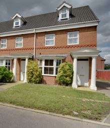 Thumbnail 4 bed town house for sale in Bayham Close, Elstow, Bedford, Bedfordshire