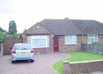 Thumbnail 3 bed semi-detached bungalow for sale in Hollybush Avenue, Chiswell Green, St.Albans