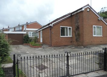 Thumbnail 4 bed detached bungalow for sale in Greenway, Shaw, Oldham