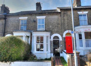 Thumbnail 2 bedroom terraced house for sale in Salisbury Road, Norwich