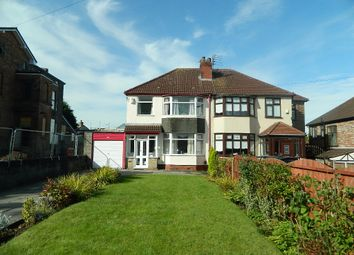Thumbnail 4 bed semi-detached house for sale in Breckside Park, Liverpool