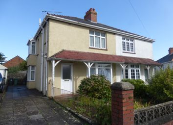 Thumbnail 3 bed semi-detached house for sale in Downton Road, Rumney, Cardiff