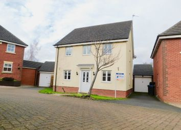 Thumbnail 3 bed detached house for sale in Barons Close, Kirby Muxloe, Leicester