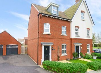 Thumbnail 3 bed semi-detached house for sale in Hutchins Lane, Wareham