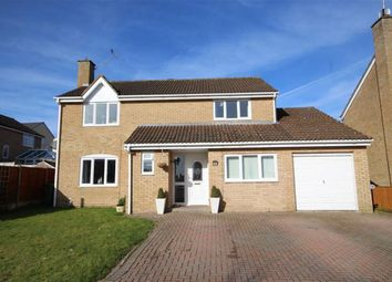 Thumbnail 4 bed detached house for sale in Clinton Close, Grange Park, Swindon