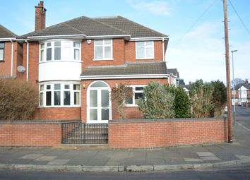 Thumbnail 6 bed detached house for sale in Romway Road, Leicester